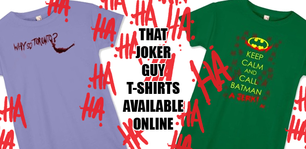 Toronto Joker Shirts